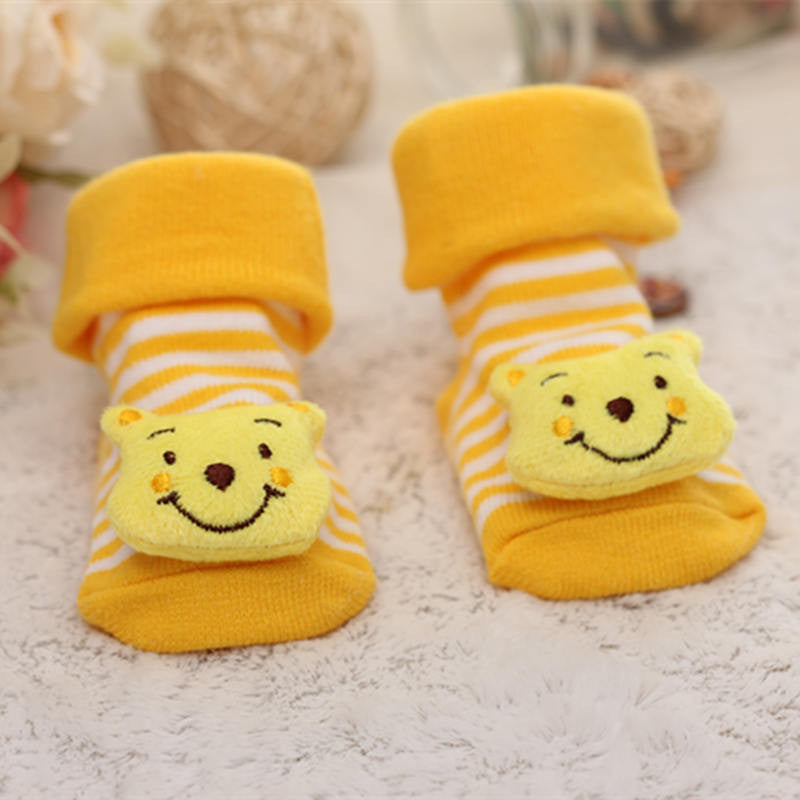 Kit com 10 Meias Bebê Pantufa - Boutique Baby Kids