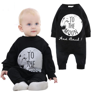 Macacão Bebê To The Moon - Boutique Baby Kids