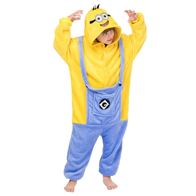 Pijama Infantil Fantasia Minion - Boutique Baby Kids