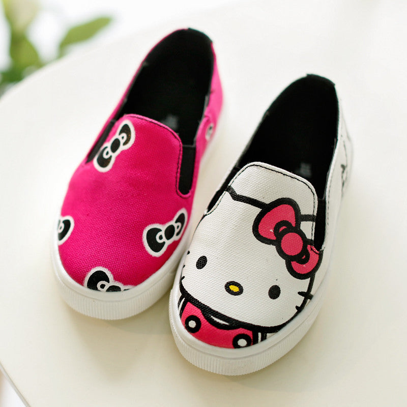 Tênis Infantil Slip On Rosa Hello Kitty - Boutique Baby Kids