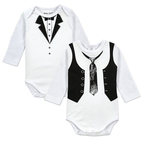 Kit com 2 Bodies Bebê Terninho - Boutique Baby Kids
