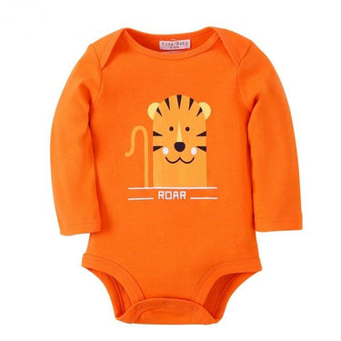 Body Bebê Tigre Manga Longa - Boutique Baby Kids