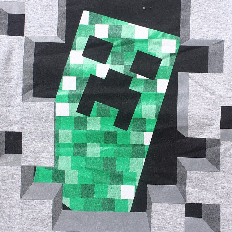Camiseta Infantil Jogo Minecraft Creeper - Boutique Baby Kids