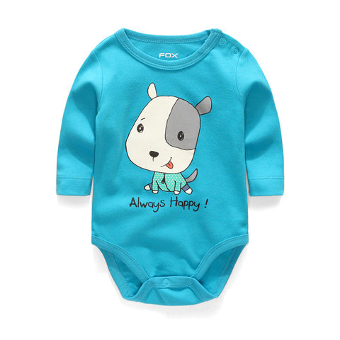 Body Bebê Estampa Bichinhos - Boutique Baby Kids