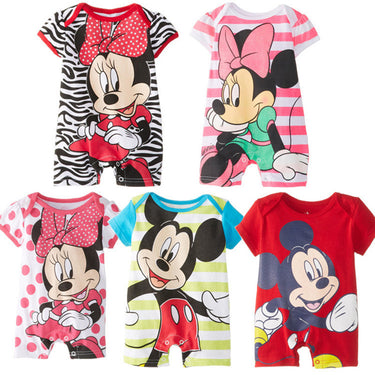 Macacão Bebê Disney Minnie e Mickey - Boutique Baby Kids