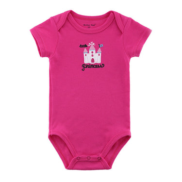Body Bebê Princesa Rosa - Boutique Baby Kids