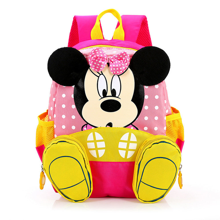 Mochila Costas Infantil Disney Minnie 3D - Boutique Baby Kids
