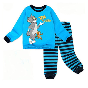 Pijama Infantil Tom e Jerry Manga Longa - Boutique Baby Kids