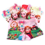 Kit 5 Calcinhas Infantil Boxer Disney Frozen - Boutique Baby Kids