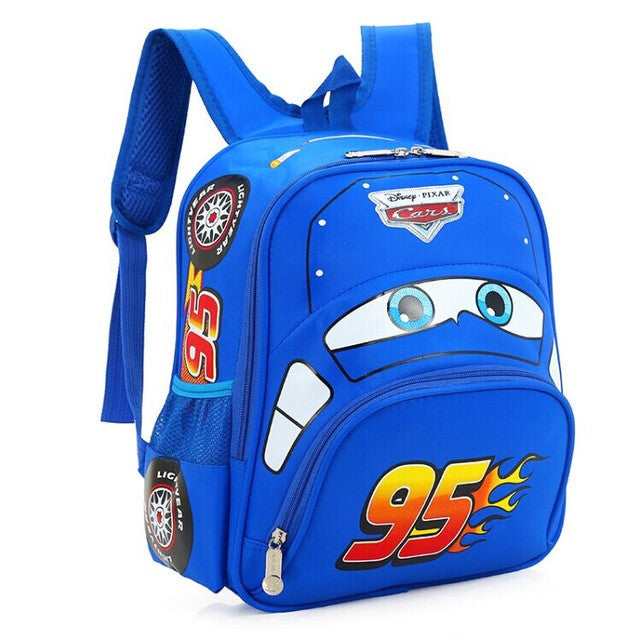 Mochila Costas Infantil Disney Carros - Boutique Baby Kids