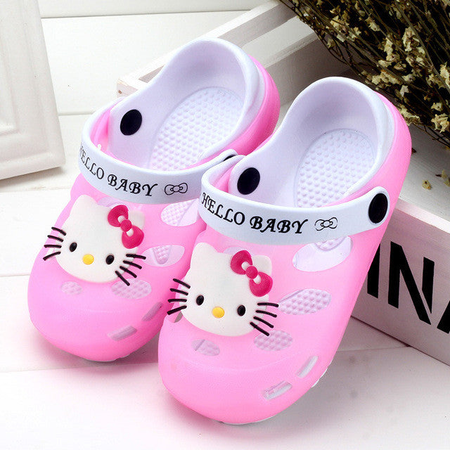 Sandália Crocs Infantil Hello Kitty - Boutique Baby Kids