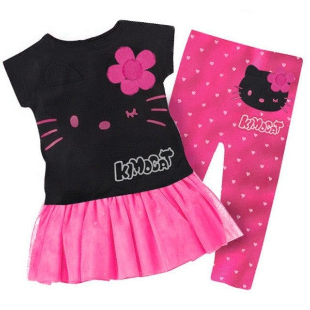Conjunto Infantil Rosa Hello Kitty - Boutique Baby Kids