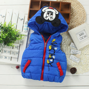 Colete Infantil Inverno Mickey - Boutique Baby Kids