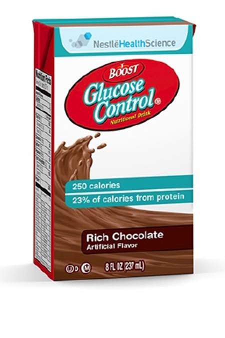 Oral Supplement Boost Glucose Control® Rich Chocolate 8 oz. Carton Ready to Use