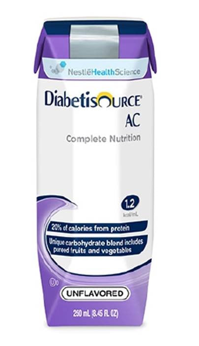 Tube Feeding Formula Diabetisource® AC 250 mL Carton Ready to Use Adult