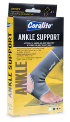 Coralite Ankle Support - (x1) Unisex - Support fits sizes 8.5 to 9.75 in. (21.5 to 24.5 cm)