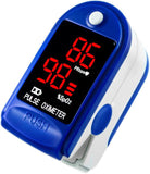 Standard Finger Pulse Oximeter - Colors may vary