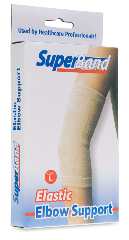SuperBand Elastic Elbow Support - (L) (x1)