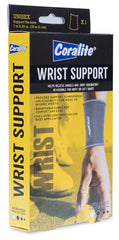 Coralite Wrist Support - (x1) Unisex - Support fits sizes 7 to 8.25 in. (18 to 21 cm)