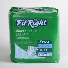 FitRight Extra Briefs - 20ct