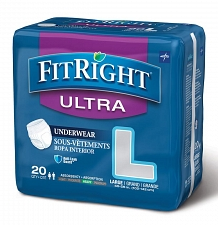 FitRight Ultra Protective Underwear - 20ct