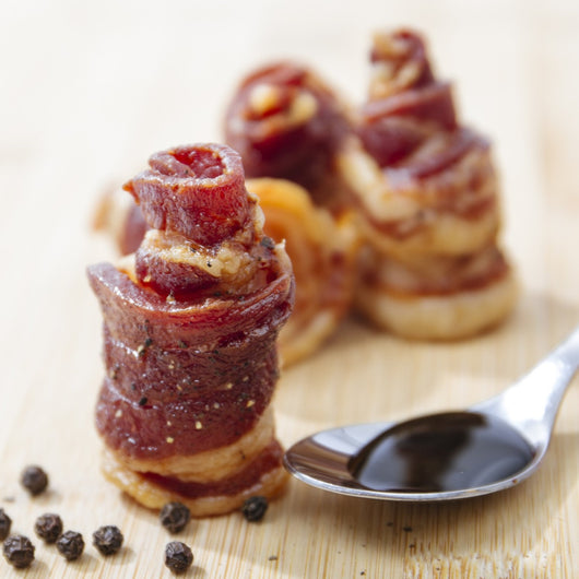 Country Glazed Bacon Rose Box