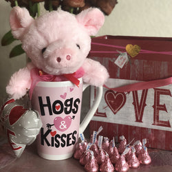 Hogs & Kisses featuring Hershey's® Kisses®