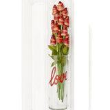 Bacon Roses Deluxe in a Love Vase