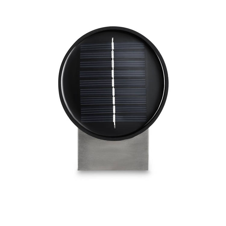 Set van 2 Solar LED wandlampen