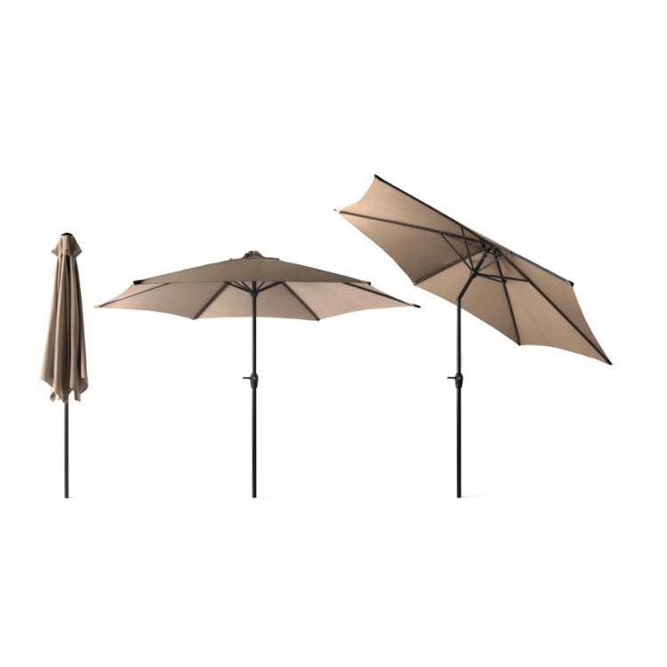 909 outdoor XL Parasol Outdoor Taupe
