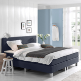 Dreamhouse Luxe Boxspringset Berlin Donkerblauw 1