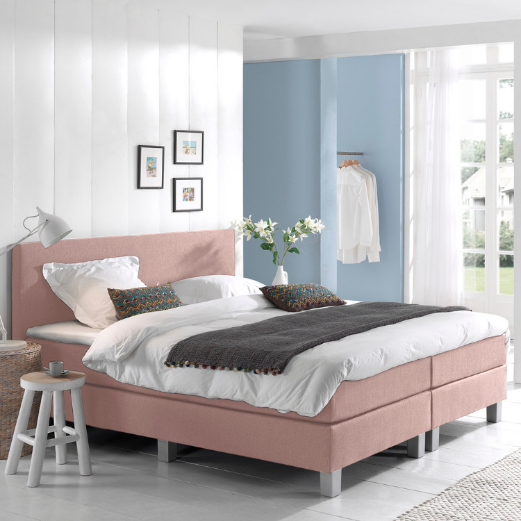 Dreamhouse Luxe Boxspringset Berlin roze 1