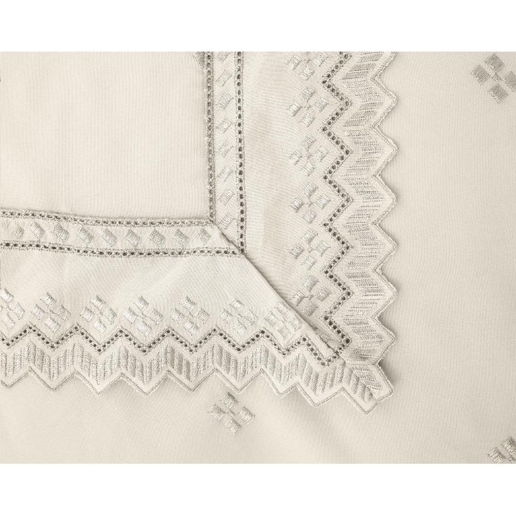 FANCY EMBROIDERY dekbedovertrek Shirley cream 2
