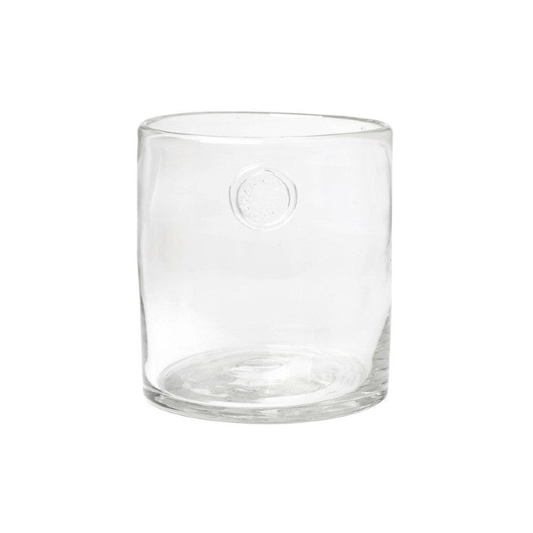 Zakkia Glass Vessel clear