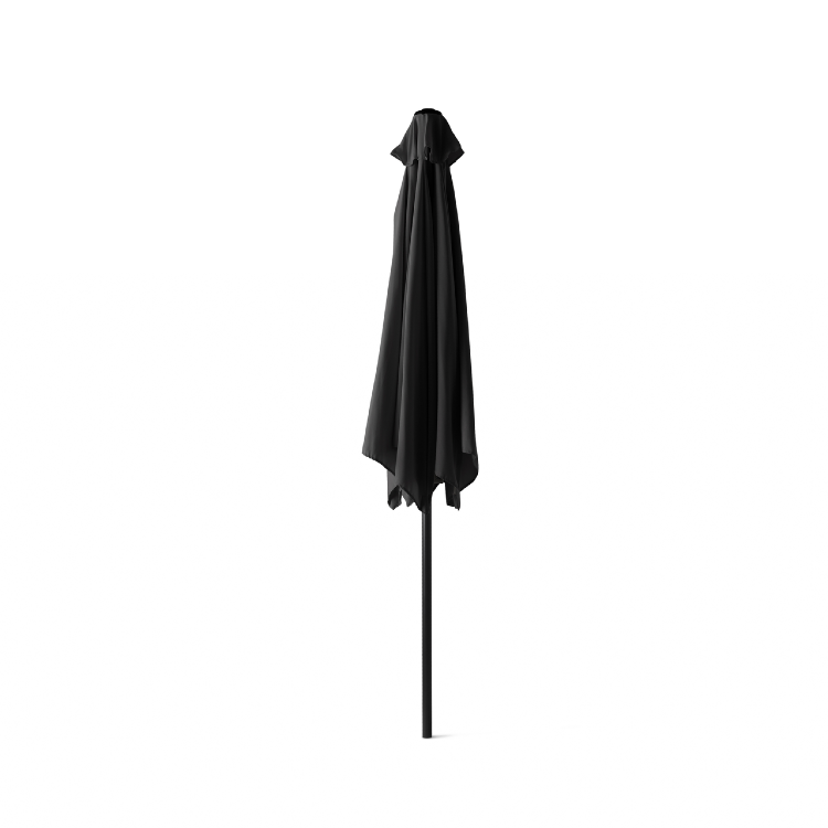 Outdoor XL Parasol zwart 3 meter