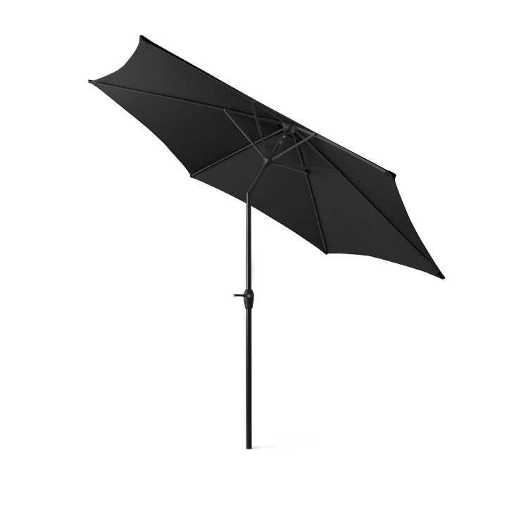 Outdoor XL Parasol zwart 3 meter 2