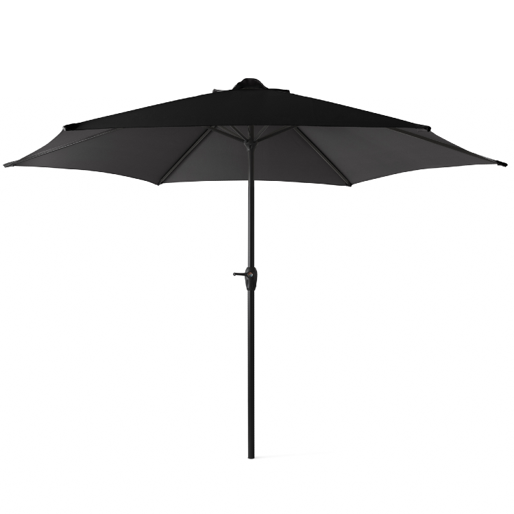 Outdoor XL Parasol zwart 3 meter 3