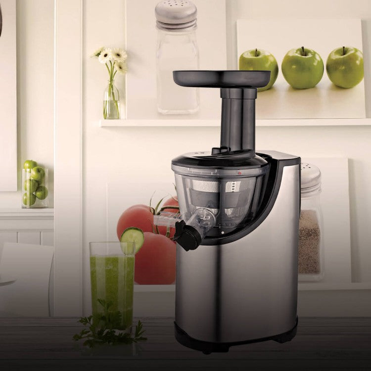 Moa Professionele Slowjuicer Stainless Steel
