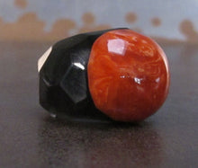 Red Sphere  Acrylic Ring