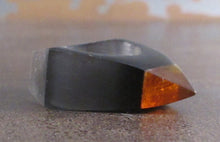 Amber Spike Acrylic Ring
