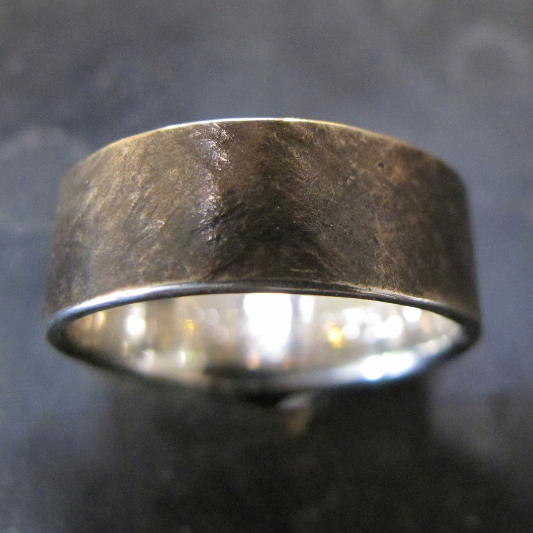 Textured 14k Wedding Band