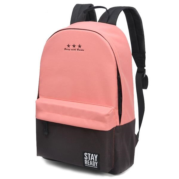 School Backpack Leisure Knapsack Laptop Travel Bags for Teenage