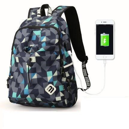 Student Backpack Waterproof Nylon Backpack