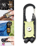 20 in 1 Multi-function Screwdriver Wrench Pliers Opener Keychain EDC Pocket Multi Tool