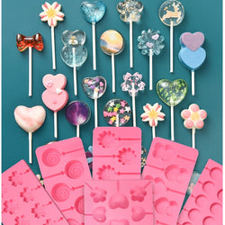Cute Lollipop and Chocolate Mold | FREE SHIPPING