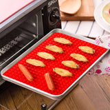 Pyramid Pan - Silicone Baking BBQ Pastry Mat Kitchen Tools