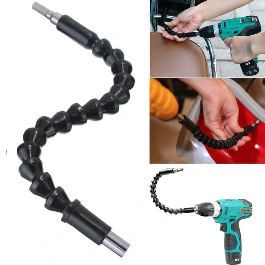 Flexible Extension Screwdriver Drill Bit Holder with Magnetic Drive Shaft Tip