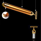 24k Golden Pulse Facial Massager Technology from Japan