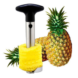 Stainless Steel Pineapple Corer/Slicer/Peeler/Cutter with Strong Non-Slip Grip Handle
