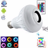 Lumiparty Singing LED Light Bulb E27 with Bluetooth Speaker and Remote Control